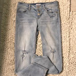 Girls size 8 So brand jeans